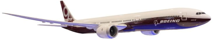 Boeing 777X model