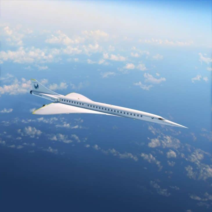 Boom Overture - cruising at 30K feet