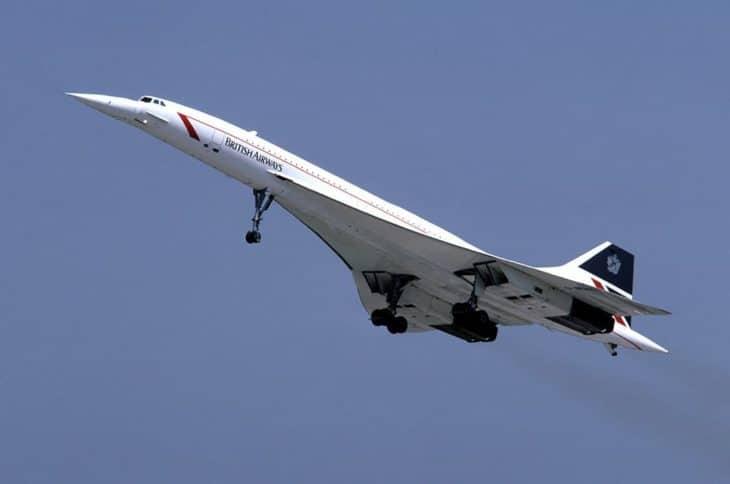 British Airways Concorde Takeoff