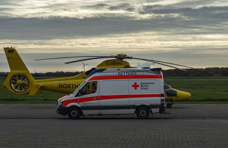 Emergency Helicopter and Ambulance Germany