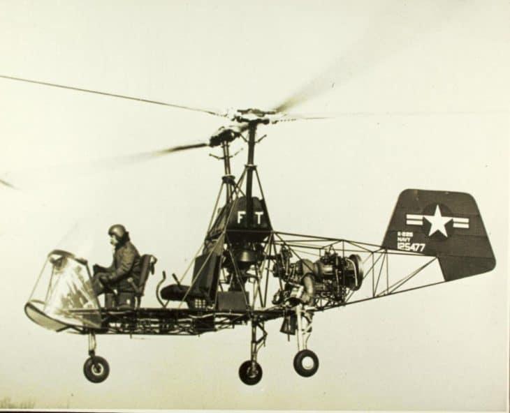 Kaman K-225, World first turbine engine helicopter