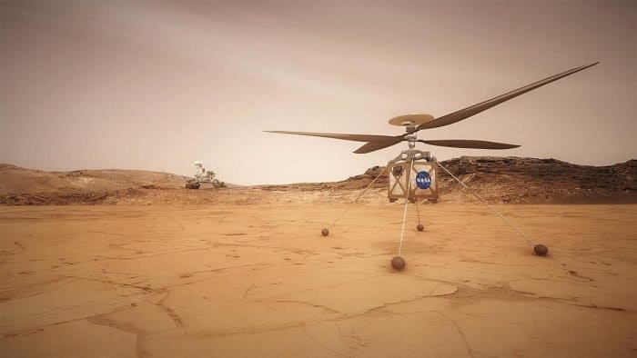 Mars Helicopter Scout