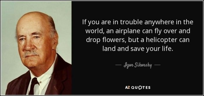Quote by Igor Sikorsky