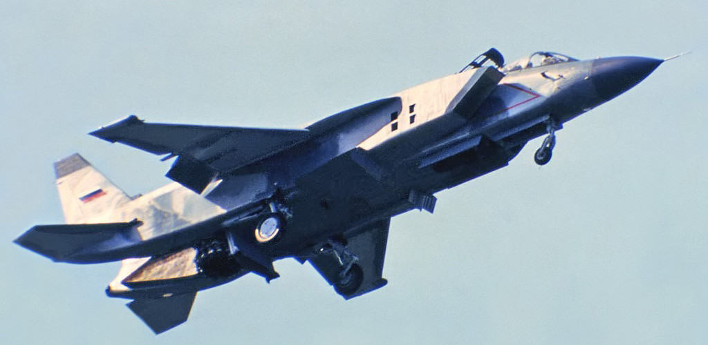 Russia Navy Yak 141 NATO Codename Freestyle
