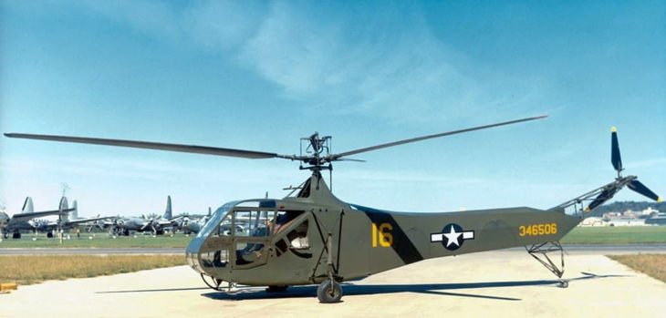 Sikorsky R-4B Hoverfly helicopter