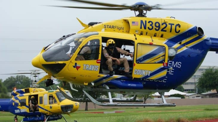 Travis county EMS Rescue Helicopter