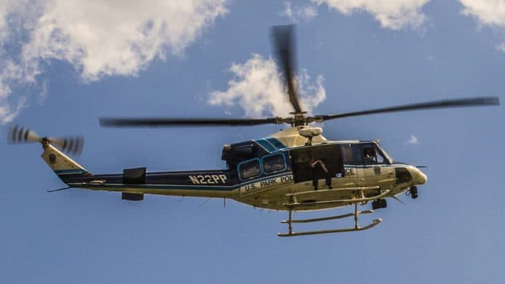 U.S. Park Police helicopter, Washington, D.C