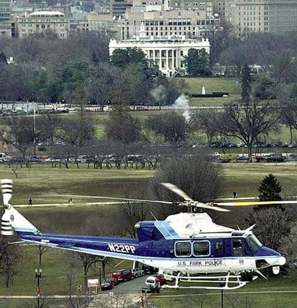 United States Park Police helicopter