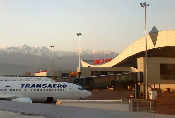 Almaty Airport Kazakhstan