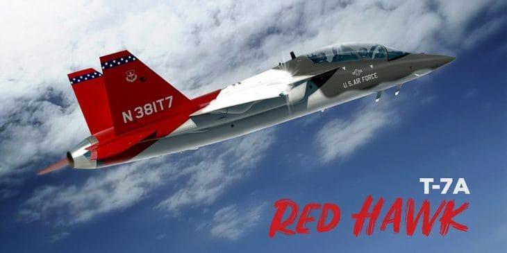 Boeing T 7 Red Hawk T X