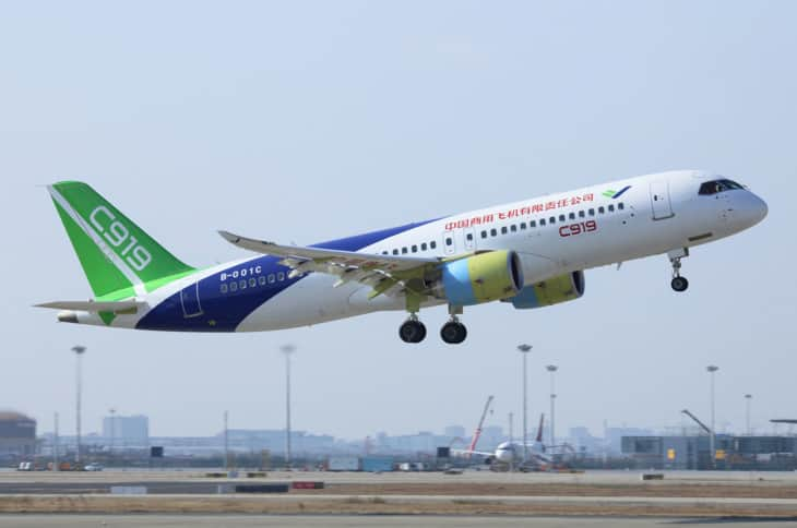 C919 COMAC Commercial Aircraft Corporation Of China