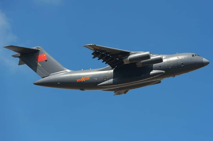China Air Force Xian Y 20