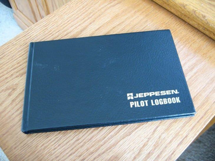 Jeppesen Pilot Logbook Cover