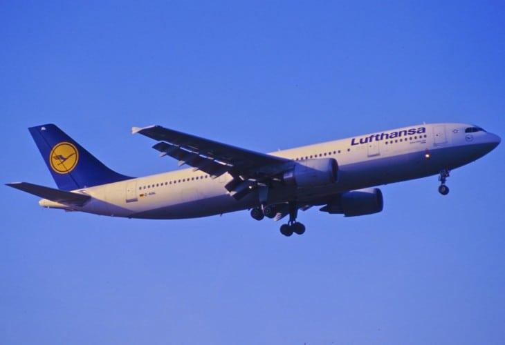 Lufthansa Airbus A300 600