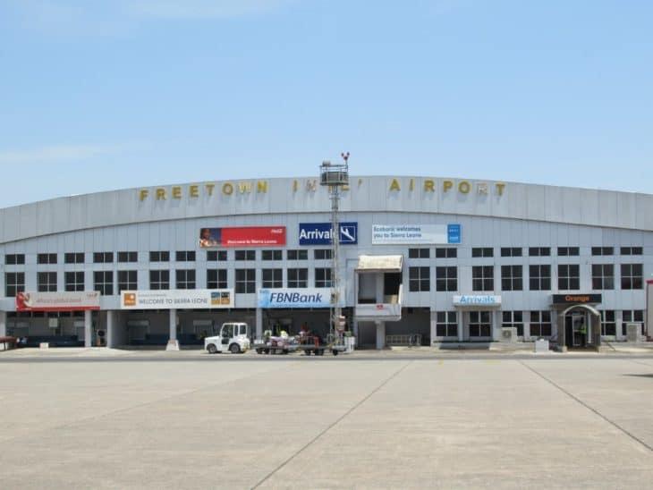 Lungi Airport Terminal Sierra Leone