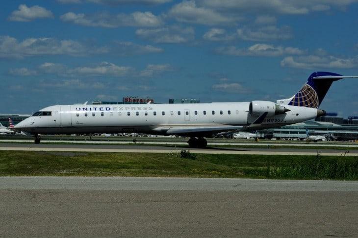 N170GJ Bombardier CRJ 702ER United Express