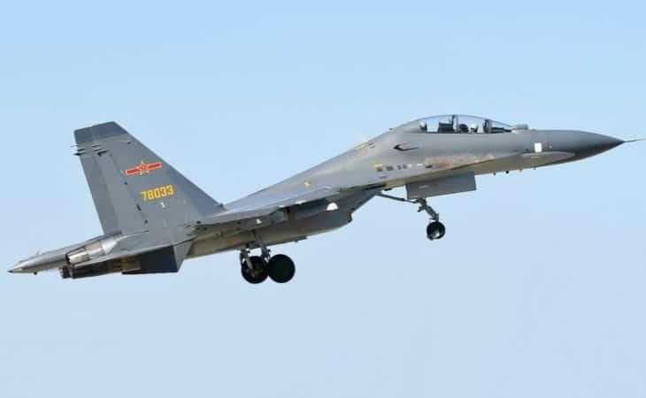 PLAAF Sukhoi Su 30