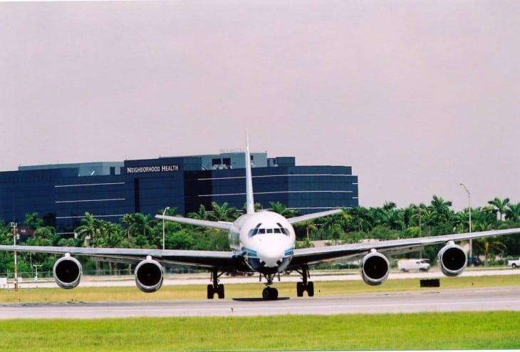 ATI Air Transport International DC 8 71 F