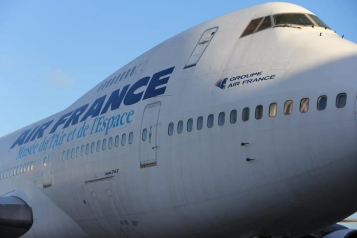 Air France Boeing 747 100