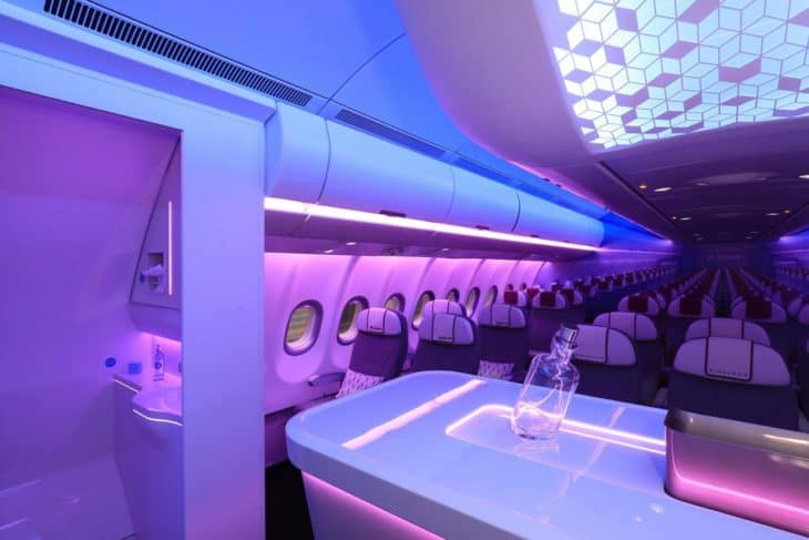 Airbus A330neo cabin seating 1