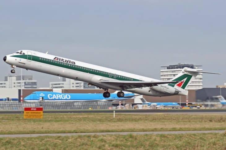 Alitalia McDonnell Douglas MD 82