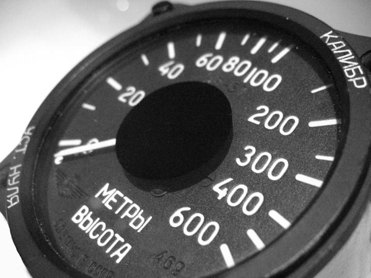 Altimeter in MiG 21