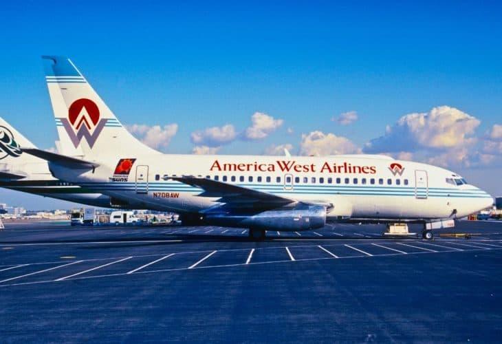 America West Boeing 737 100