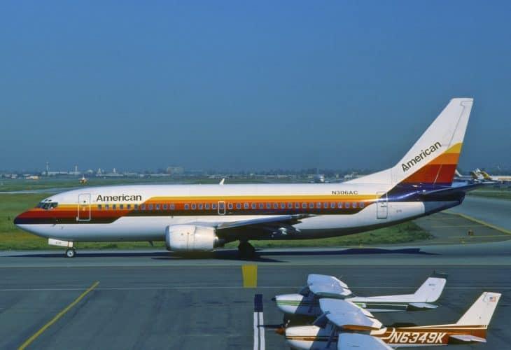 American Airlines Boeing 737 300