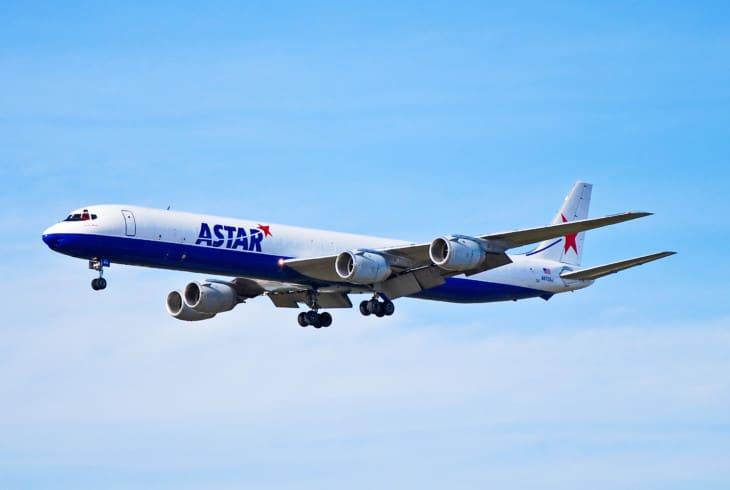 Astar Air Cargo McDonnell Douglas DC 8 73F