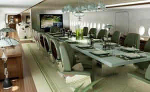 11 of The Biggest Private Jets in the World