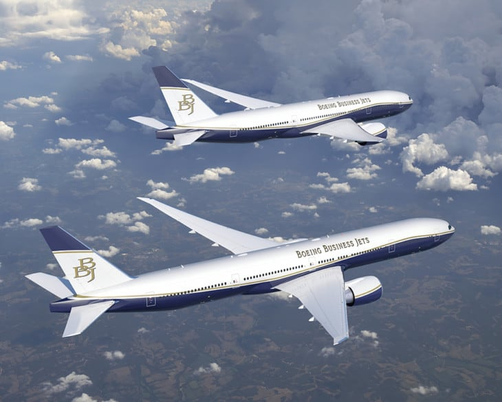 Boeing BBJ 787-8 and 787-9