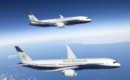 Boeing BBJ 787 8 and 787 9