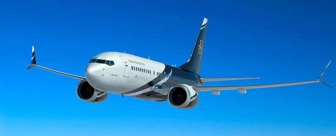 Boeing BBJ MAX 7 1110