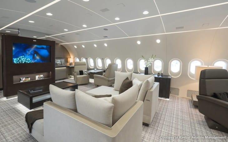 Boeing BBJ MAX interior concept