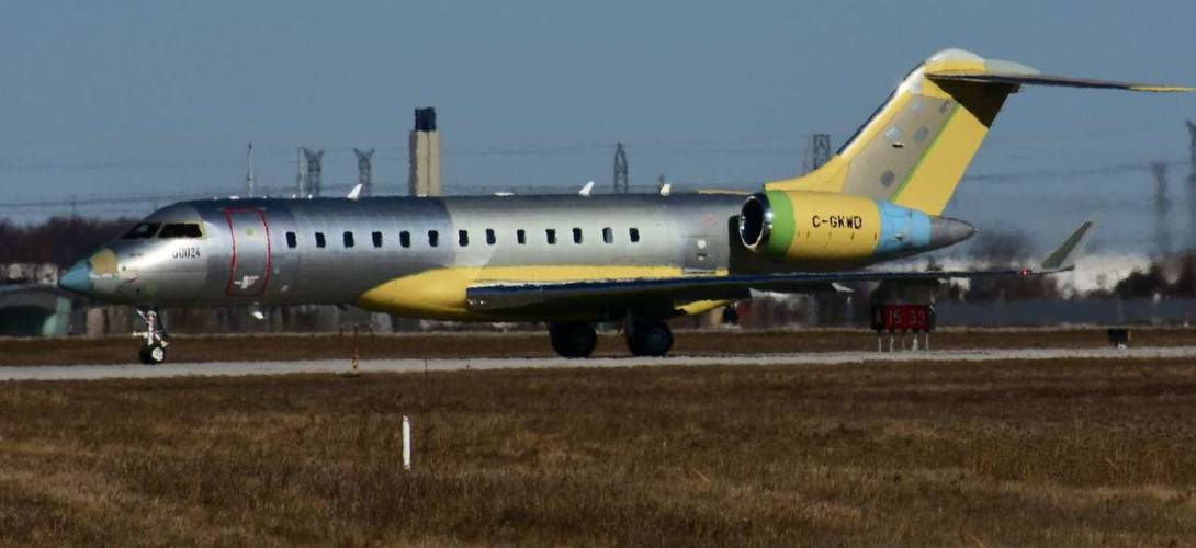 Bombardier Global 5500 at Toronto Downsview Airport