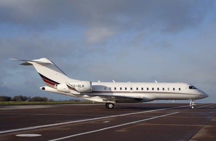 Bombardier Global 6000 Netjets