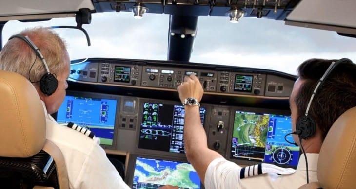 Bombardier Global 8000 Cockpit