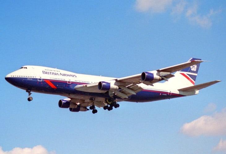 British Airways Boeing 747 100