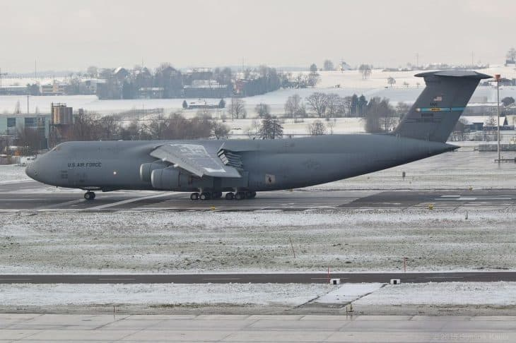 C 5M Super Galaxy at ZRH