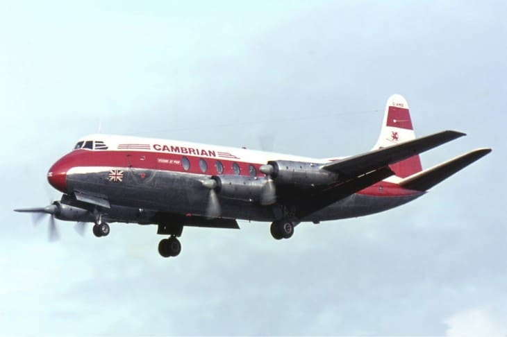 Cambrian Airways Vickers Viscount