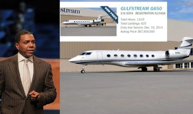 Creflo A. Dollar Jet