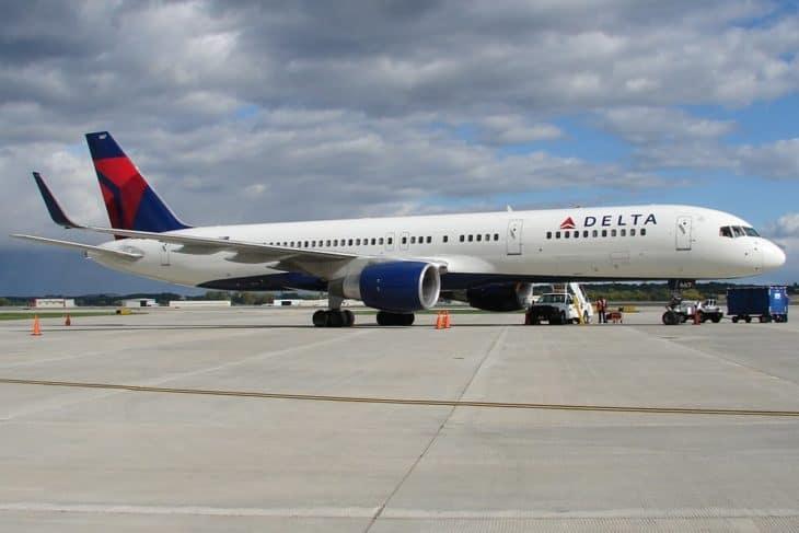 Delta Air Lines Boeing 757 200