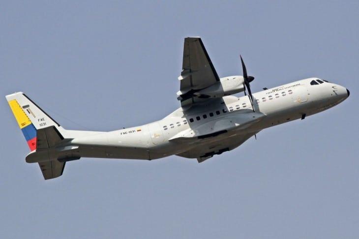 Fuerza Aérea Ecuatoriana CASA C 295M