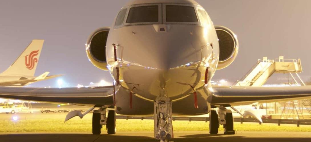 Gulfstream Aerospace G650ER closeup