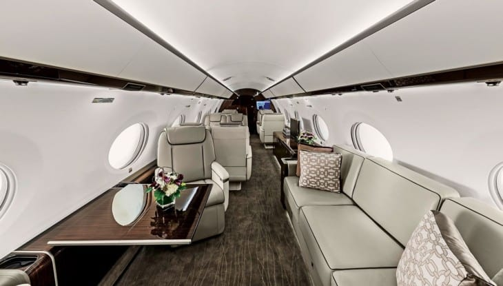 Gulfstream G650ER Lounge