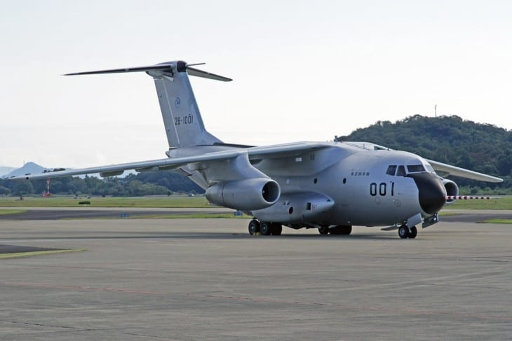 Japan Air Self Defense Force Kawasaki C 1 28 1001
