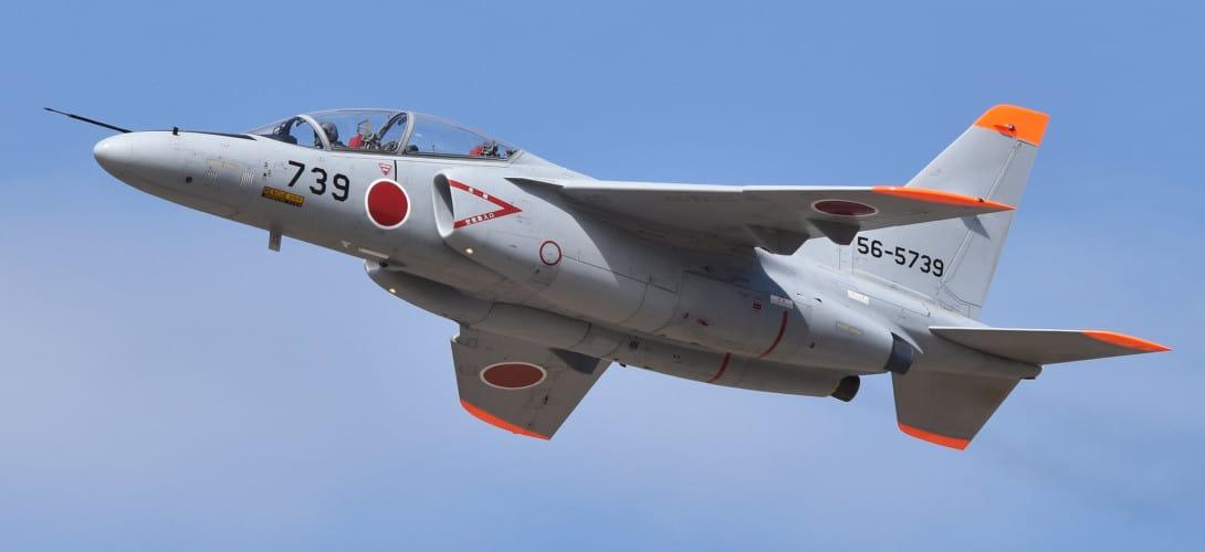 Kawasaki T 4 '56 5739 at Hyakuri Air Base