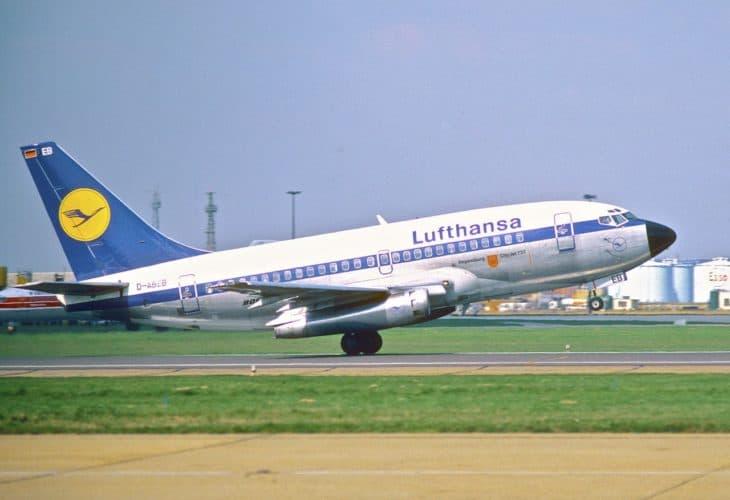 Lufthansa Boeing 737 100 Takeoff
