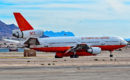 McDonnell Douglas DC 10 30 Air Tanker in Las Vegas during Aviation Nation 2016 Air Show