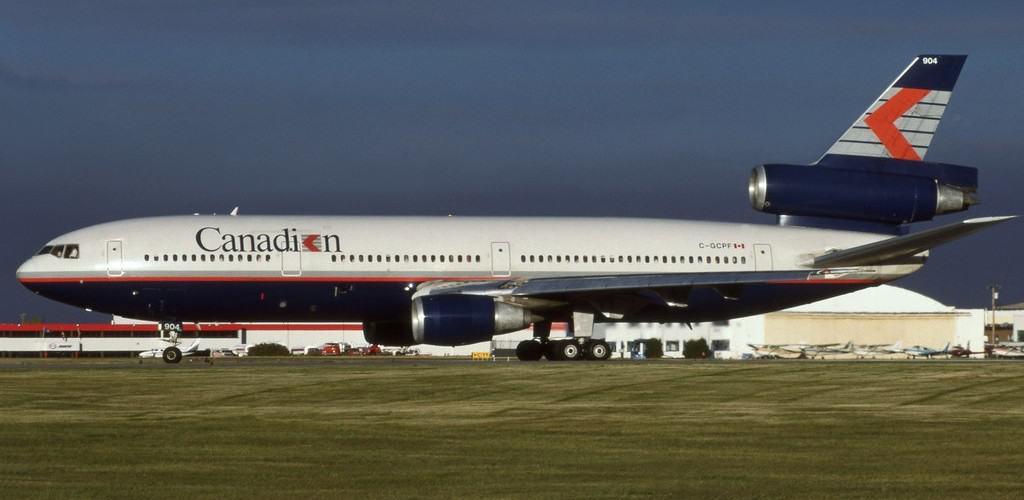 McDonnell Douglas DC 10 30ER Canadian International Airlines